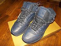 Зимние кроссовки reebok classic leather MID ripple (FU9130) 43,5