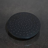 Душевой гарнитур 2 в 1 WanFan душевая система стационарный душ кран Черный, фото 4
