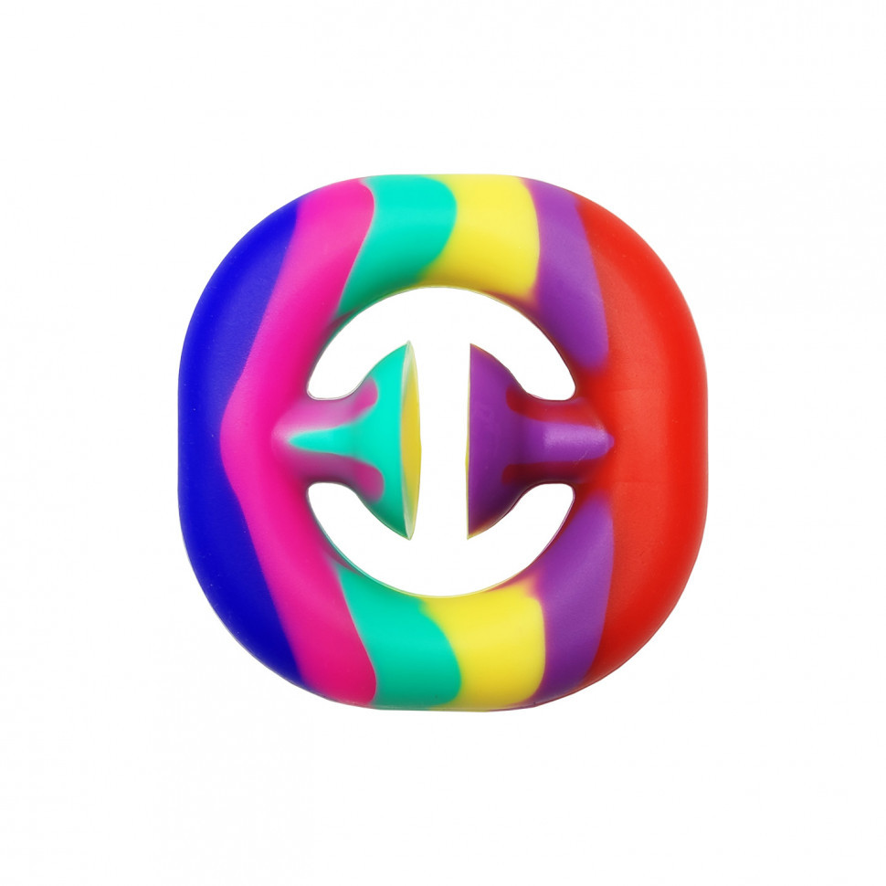 Антистресс игрушка-пупырка POP-IT PPT-Ex Эспандер Разноцветный