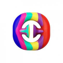 Антистресс игрушка-пупырка POP-IT Попит PPT-Ex Эспандер Разноцветный