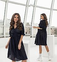 Женское платье-двойка.Размеры:42/48+Цвета