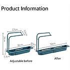 ОПТ Органайзер для кухонної раковини Sink Holder, тримач для губки і миючого засобу з вішалкою, фото 4