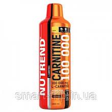 Жиросжигатель карнитин Nutrend CARNITINE 100000 1000 мл лимон