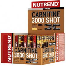 Жиросжигатель карнитин Nutrend CARNITINE 3000 Shot 20x60 ml ананас