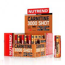 Жиросжигатель карнитин Nutrend CARNITINE 3000 Shot 20x60 ml клубника
