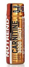 Жиросжигатель карнитин Nutrend CARNITINE 3000 Shot 60 ml клубника