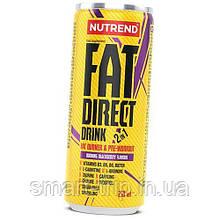Жиросжигатель передтренировочный Nutrend FAT DIRECT DRINK 250 мл ежевика