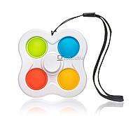 Антистресс игрушка Сімпл-Дімпл Спинер Разноцветный EK11013