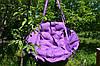 Дитяча гойдалка підвісна Гамак 150 кг 96 см Фіолетовий
