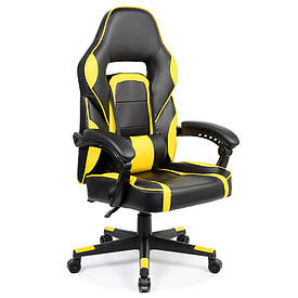 Кресло геймерское Goodwin Parker без подножки yellow