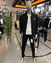 Мужской спортивный костюм Moncler CK2651 черный