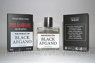 Унисекс аромат насоматто блэк афган Nasomatto Black Afgano с феромонами 60 мл (лиц) духи парфюм пробник запах
