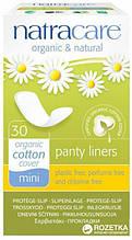 Ежедневные прокладки  Natracare Panty Liners Mini из органического хлопка  Натуркеа мини 30 шт