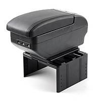 Подлокотник Универсальный Milex 145x320x155 см 9 USB Черный