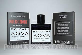 Мужские духи Булгари Аква Пур Хоум Bvlgari Aqua pour homme с феромонами 60 мл (лиц) парфюм аромат тестер запах