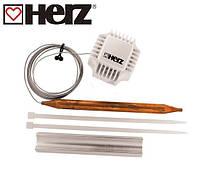 Термостатическая головка Herz c накладным датчиком для бойлера или контура отопления