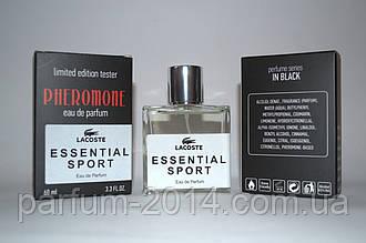 Чоловічий парфум Лакоста необхідний Спорт Lacoste Essential Sport з феромонами 60 мл (осіб) парфуми тестер
