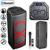 Активна Акустика BOOMBOX Proaudio SG-X3 Bluetooth, Колонка 120 Ват, Світломузика, Чорна