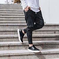 Стильные мужские брюки в полоску S M L XL