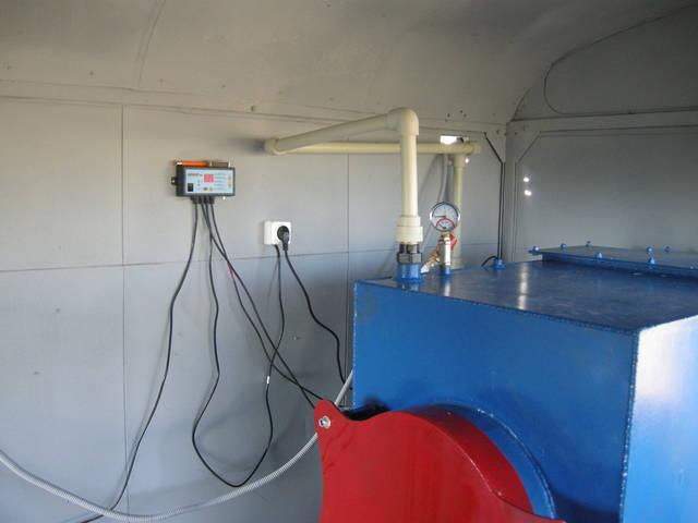 Производство и установка пиролизного котла мощностью 60 кВт (Рус.Лозовая) 2