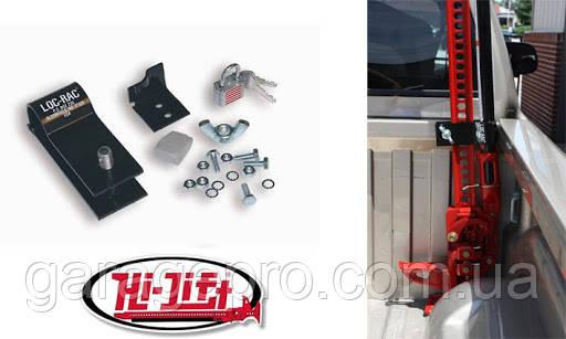 Крепеж домкрата Hi-Lift в кузов пикапа Loc-Rac LR-200