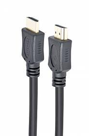 Кабель Cablexpert CC-HDMI4L-0.5M (HDMI V.1.4, папа/папа, позолоч.контакты, 0.5м, черный)