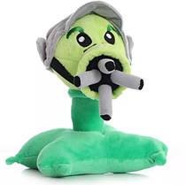 Пулеметчик 18см Оригинальная плюшевая игрушка Растения против зомби  из игры Plants vs Zombies
