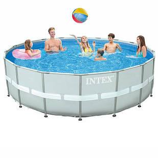 Каркасный бассейн Intex 28336-0, 549 х 132 см (чаша, каркас)