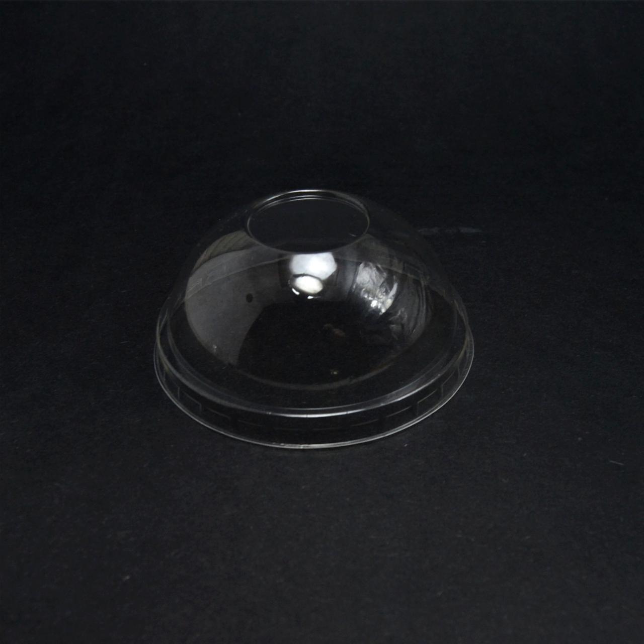 Крышка купольная без отверстием для стакана Ø 95мм РЕТ(180.200,300,420,500) уп/50 штук