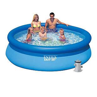 Надувной бассейн Intex 28122, 305 х 76 см (1 250 л/ч)
