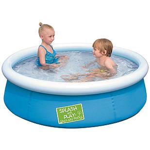 Надувной бассейн Bestway 57241, 152 х 38 см, голубой