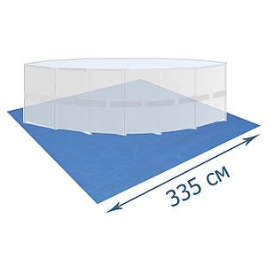 Подстилка для бассейна Bestway 58001, 335 х 335 см, квадратная