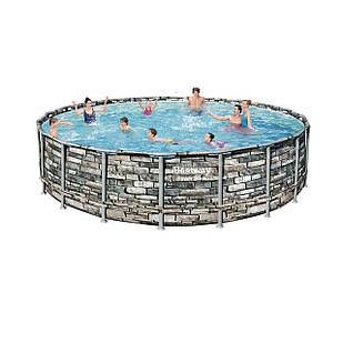 Каркасный бассейн Bestway 56883 - 0 (чаша, каркас), 610 x 132 см
