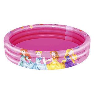 Детский надувной бассейн Bestway 91047 «Принцессы», 122 х 25 см
