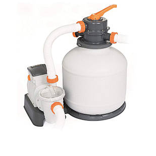 Песочный фильтр насос Bestway 58497, 5 678 л/час, 9 кг