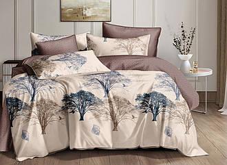 Комплект постельного белья семейный из сатина Волшебное дерево 150х220 см