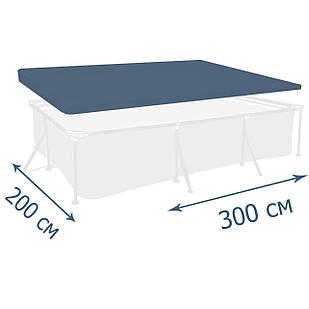 Тент - чехол для каркасного бассейна Intex 28038, 300 х 200 см