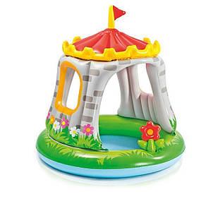 Детский надувной бассейн Intex 57122 «Королевский Замок», 122 х 122 см