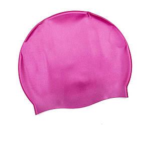 Шапочка для плавания Bestway 26006, универсальная, обхват головы ≈ 56 см, (19 х 22 см), розовая