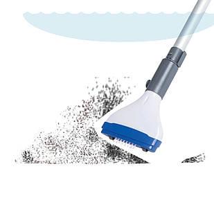 Ручной вакуумный пылесос Bestway 58340 (для бассейна, джакузи) на батарейках «АА» 8 шт
