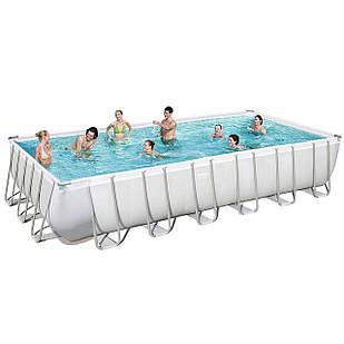 Каркасный бассейн Bestway 56475 - 0 (чаша, каркас), 732 х 366 х 132 см