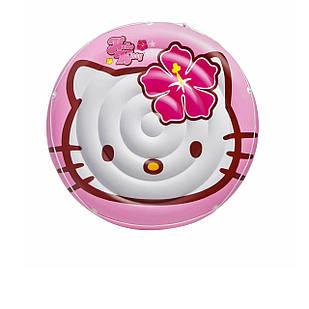 Детский надувной матрасик Intex 56513 «Hello Kitty», 137 см