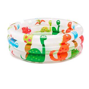 Детский надувной бассейн Intex 57106, «Динозавр» 61 х 22 см