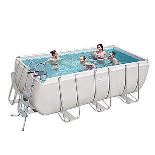 Каркасный бассейн Bestway 56456 - 1, 412 х 201 х 122 см (лестница)