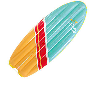Пляжный надувной плотик Intex 58152 «Серфинг», 178 х 69 см, зеленый