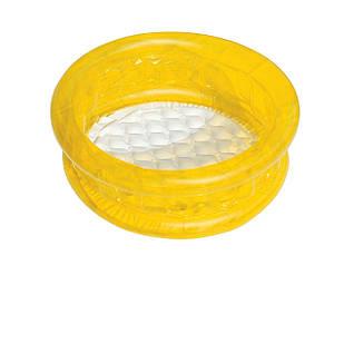 Детский надувной бассейн Bestway 51112, желтый, 64 х 25 см