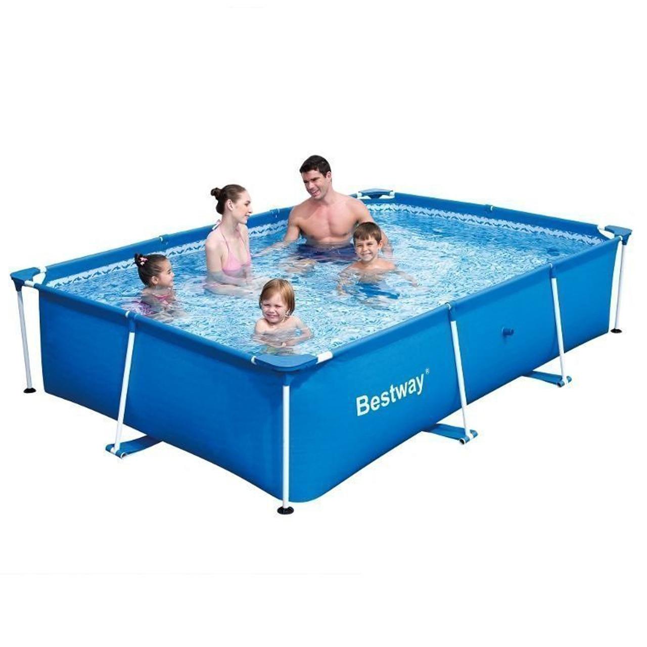 Каркасный бассейн Bestway 56403, 259 х 170 х 61 см