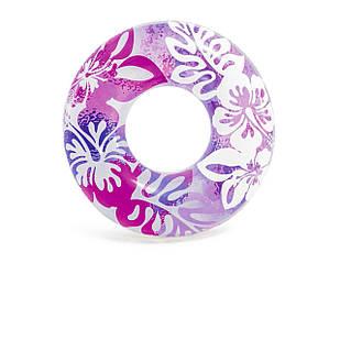 Надувной круг Intex 59251 «Перламутр», 91 см, розовый