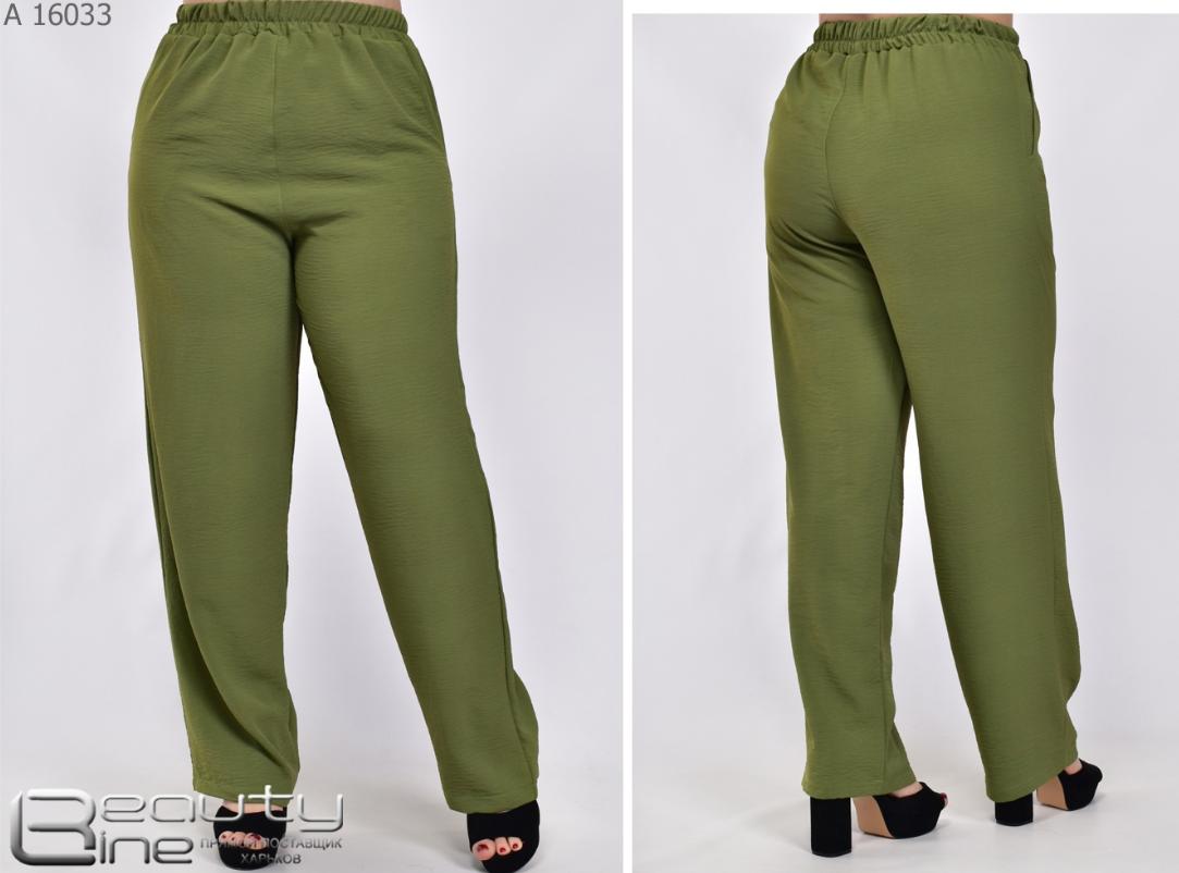Женские летние брюки большого размера Украина Размеры: 54.56.58.60.62.64.66.68.70.