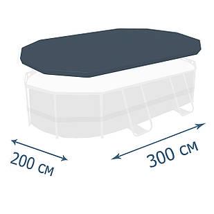 Тент - чехол для каркасного бассейна Bestway 58424, 300 х 200 x 84 см